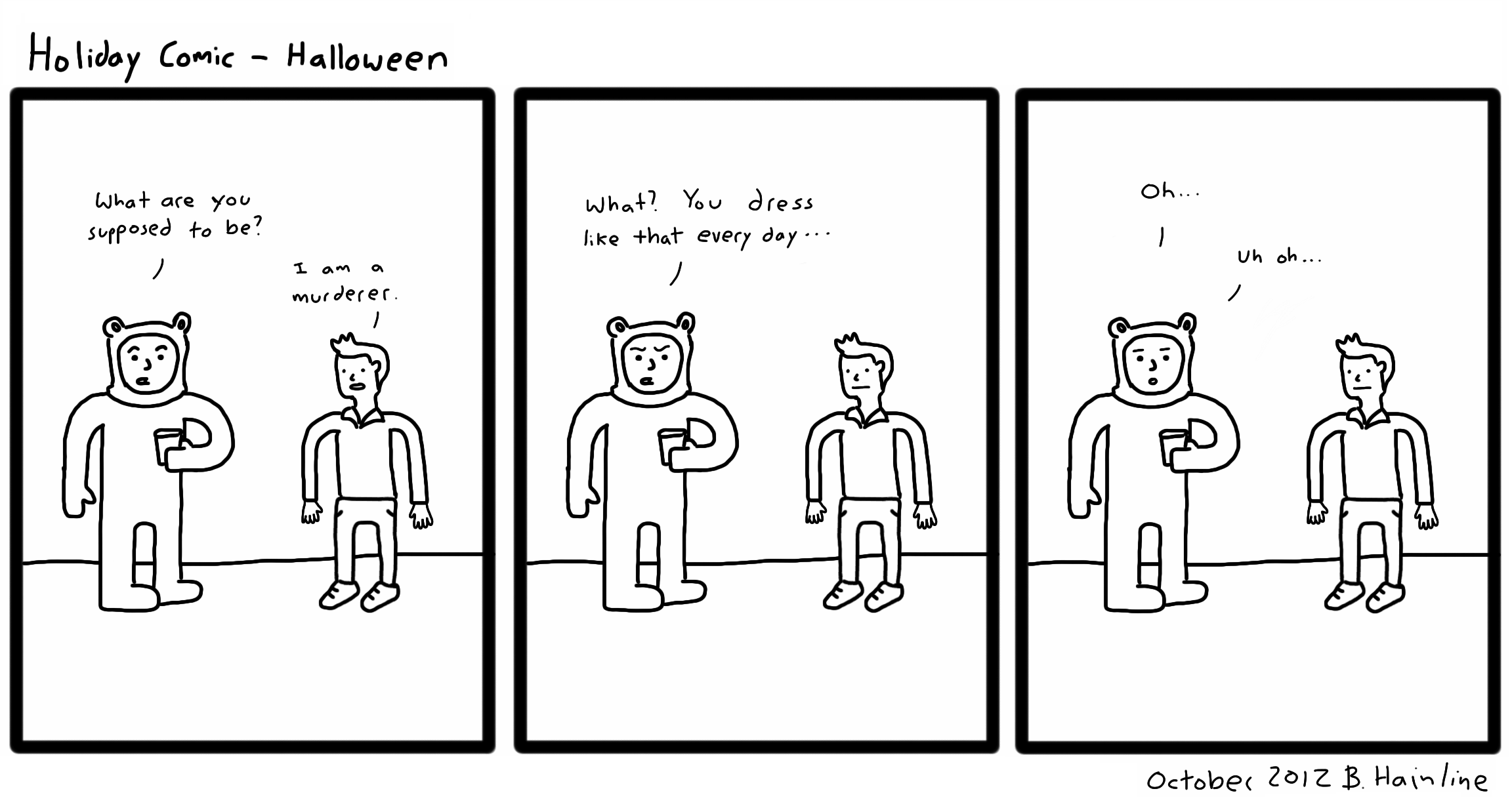 Holiday Comic - Halloween
